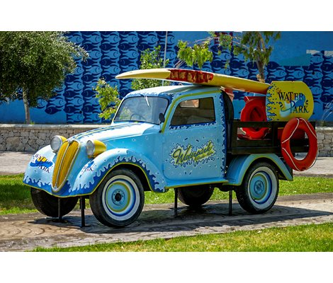 Decorative Automotive in Waterpark Faliraki Rhodes